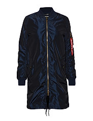 MA-1 LW Coat Iridium Wmn - REP.BLUE