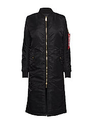 MA-1 Coat PM Long Wmn - BLACK