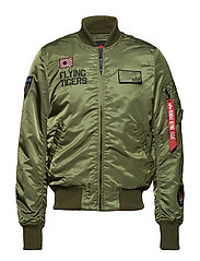 MA-1 VF Flying Tigers - SAGE-GREEN