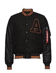 College Jacket - BLACK