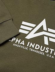 Alpha Industries - Basic Sweater - yläosat - dark green - 2