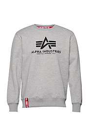 Basic Sweater - GREY HEATHER