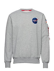 Space Shuttle Sweater - GREY HEATHER