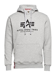 Basic Hoody - GREY HEATHER