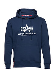 Basic Hoody - NEW NAVY
