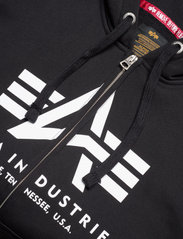 Alpha Industries - Basic Zip Hoody - hupparit - black - 2