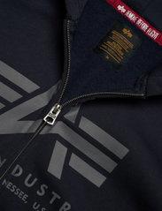 Alpha Industries - Basic Zip Hoody - hupparit - rep.blue - 4
