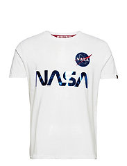 NASA Reflective T - WHITE/BLUE