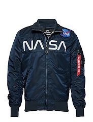 NASA Jacket Flight Nylon - REP.BLUE