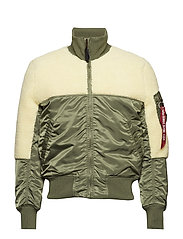 Teddy Jacket - SAGE-GREEN