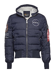 Hooded Puffer Apollo 11 - REP.BLUE