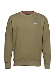 Basic Sweater Small Logo - OLIVE