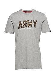 Army Camo T - GREY HEATHER
