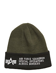 Air Force Beanie - DARK GREEN