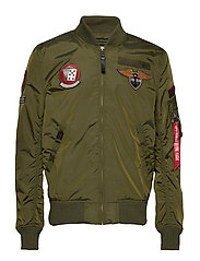 MA-1 TT Patch SF - DARK GREEN