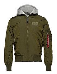 MA-1 TT Hood - DARK GREEN