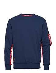 RBF Inlay Sweater - NEW NAVY