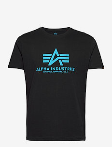 Basic T-Shirt - kortermede t-skjorter - black/blue