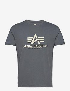 Basic T-Shirt - t-shirts - greyblack