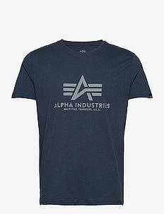 Basic T-Shirt - lyhythihaiset - rep.blue