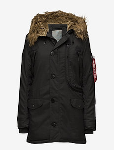 Polar Jacket Wmn - parkasjackor - black