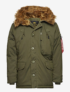 Polar Jacket - parkas - dark green