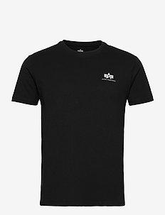 Backprint T - perus t-paidat - black