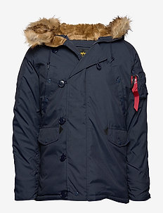 Explorer w/o Patches - parkas - rep.blue