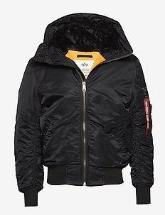 MA-1 Hooded - BLACK