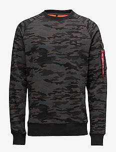 X-Fit Sweat - sweatshirts - black camo