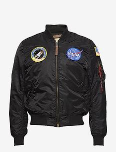 MA-1 VF NASA - bomberjackor - black