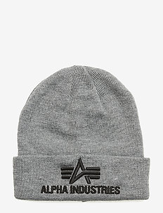 3D Beanie - luer - grey heather