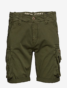 Crew Short - casual shorts - dark olive