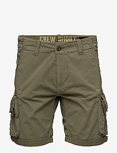 Crew Short - casual shorts - light olive