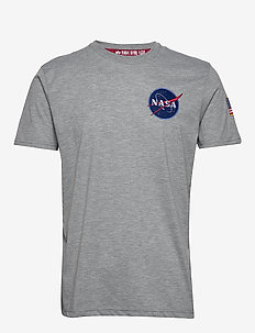 Space Shuttle T - logo t-shirts - grey heather