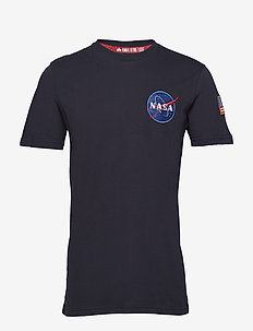 Space Shuttle T - logo t-shirts - rep.blue