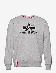 Basic Sweater - overdeler - grey heather