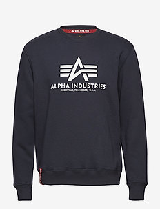 Basic Sweater - sweatshirts - navy