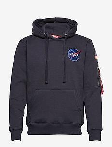Space Shuttle Hoody - hættetrøjer - rep.blue