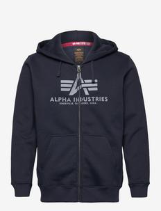 Basic Zip Hoody - hættetrøjer - rep.blue