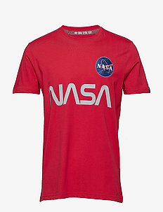 NASA Reflective T - SPEED RED
