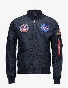 MA-1 TT NASA Reversible II - bomberjakker - rep.blue