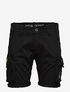 Crew Short Patch - casual shorts - black