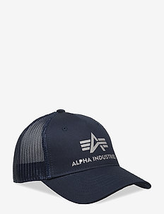 Basic Trucker Cap - lakit - rep.blue