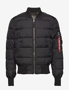 MA-1 Puffer - forede jakker - black