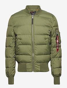 MA-1 Puffer - forede jakker - sage-green