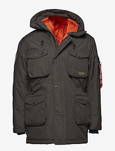 Mountain All Weather Jacket - parkas - greyblack