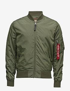 MA-1 TT - bomber jakke - sage green