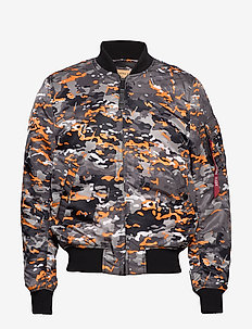 MA-1 VF 59 - BLACK ORANGE CAMO