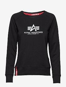 New Basic Sweater Wmn - BLACK